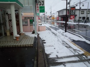 近江八幡店舗前